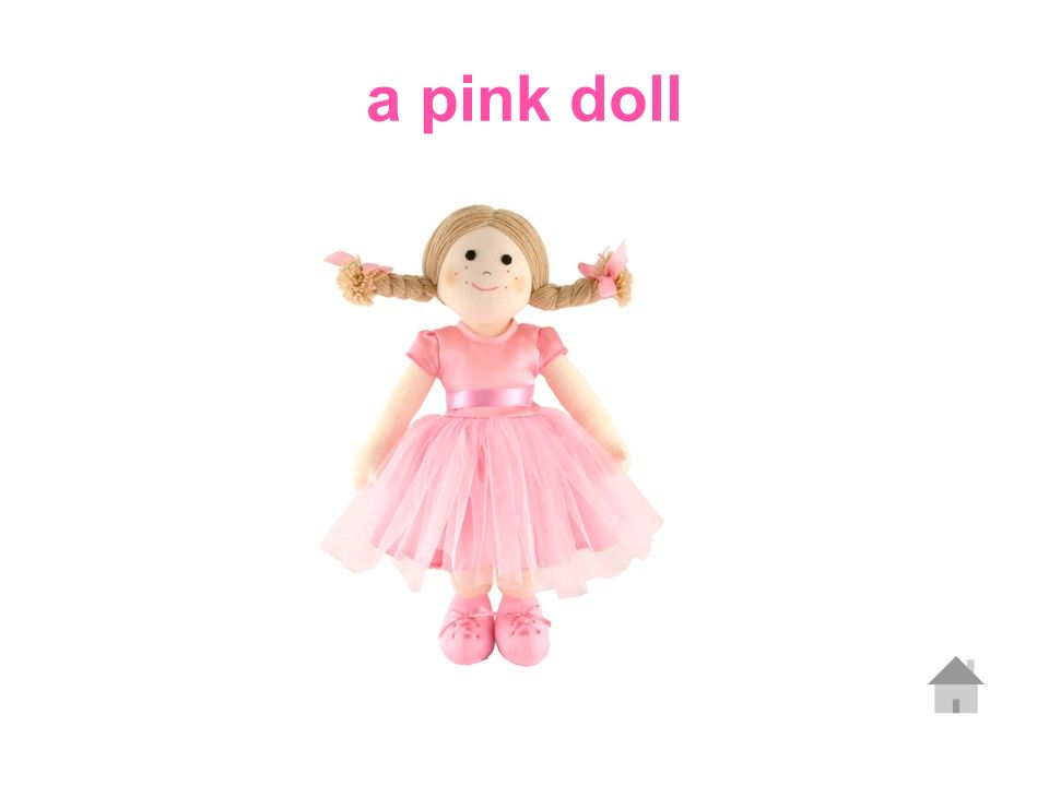 a pink doll