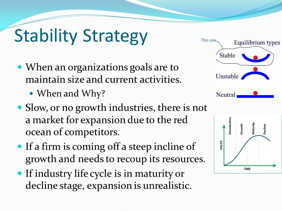 stability strategy of toyota