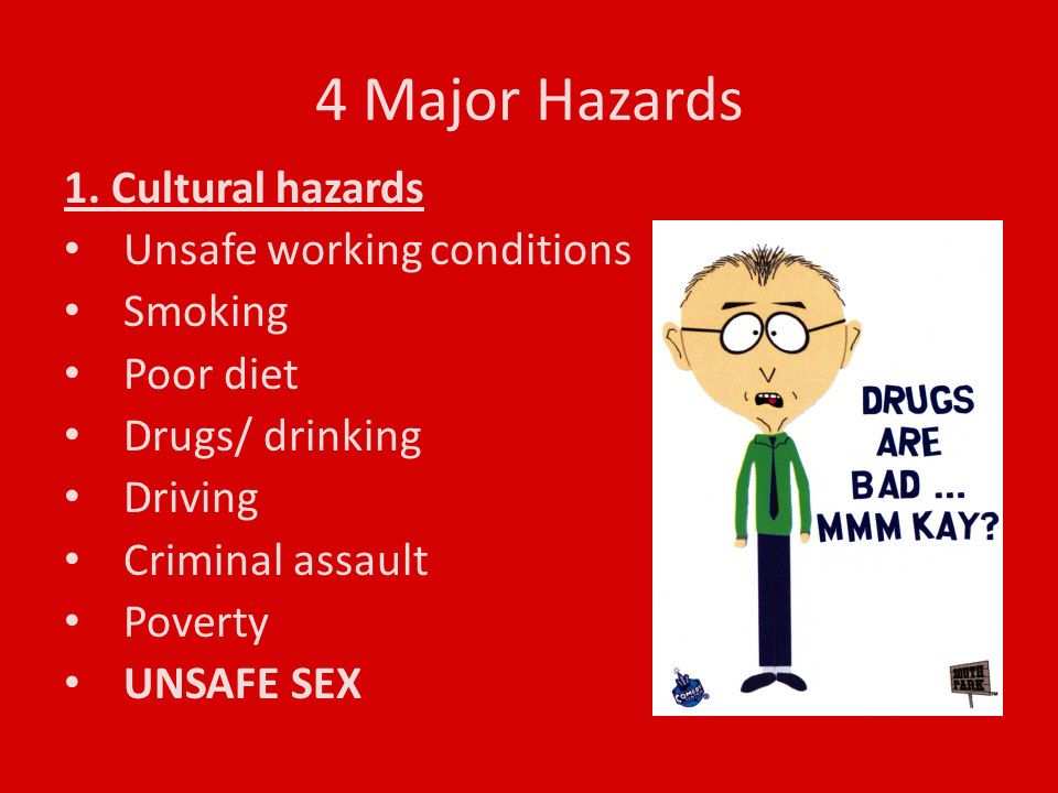 4 Major Hazards 1.