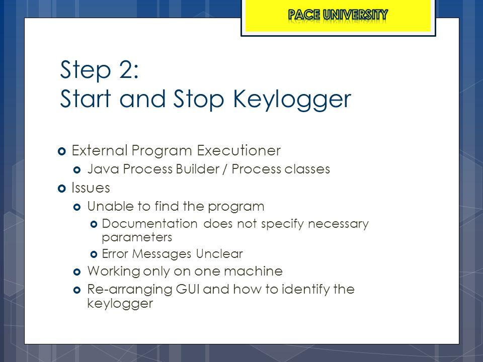 Analysis of the Fimbel Keylogger and Pace University Converter