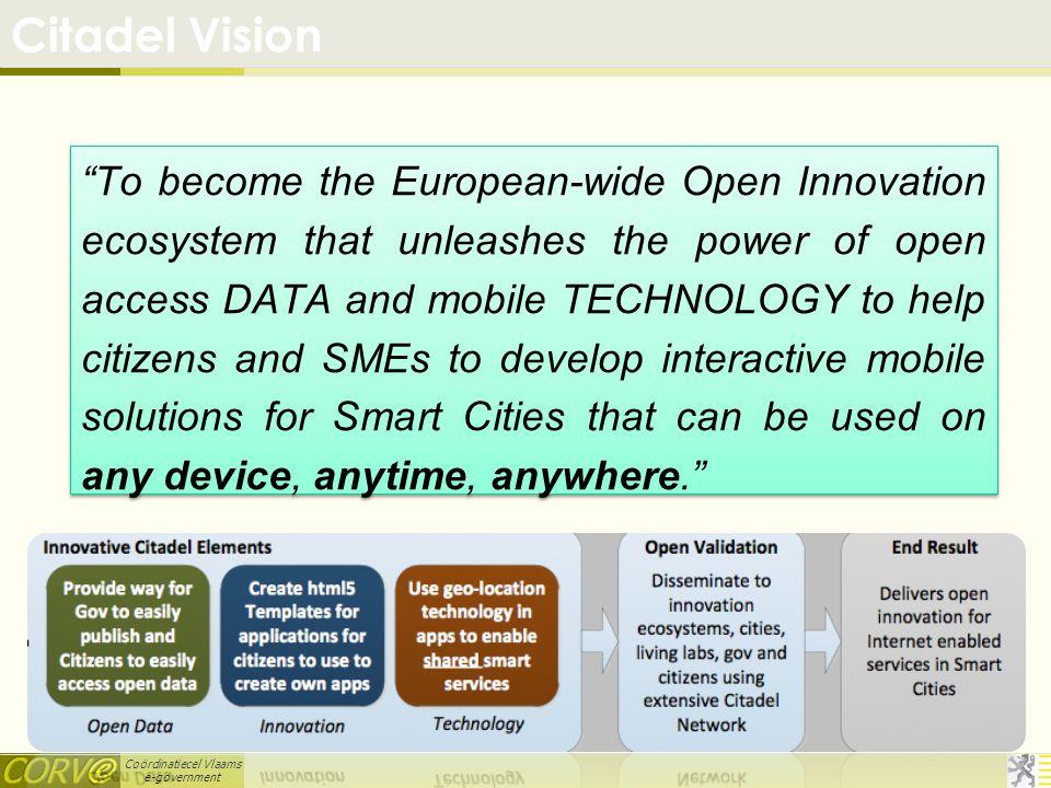 Coördinatiecel Vlaams e-government Open Data Forum for the GCC Open