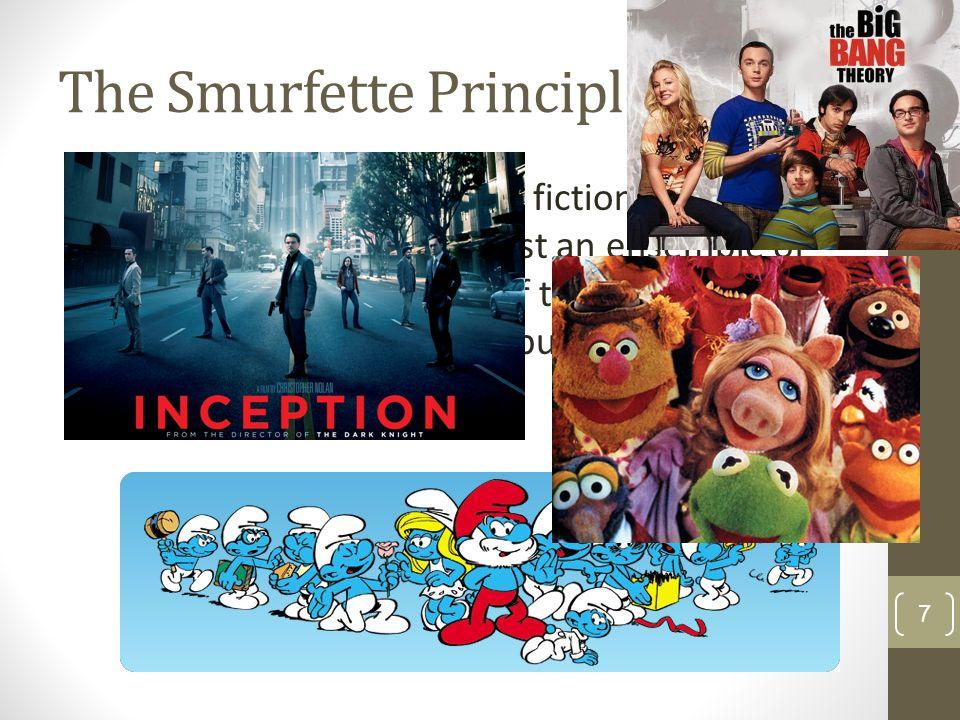 the smurfette principle