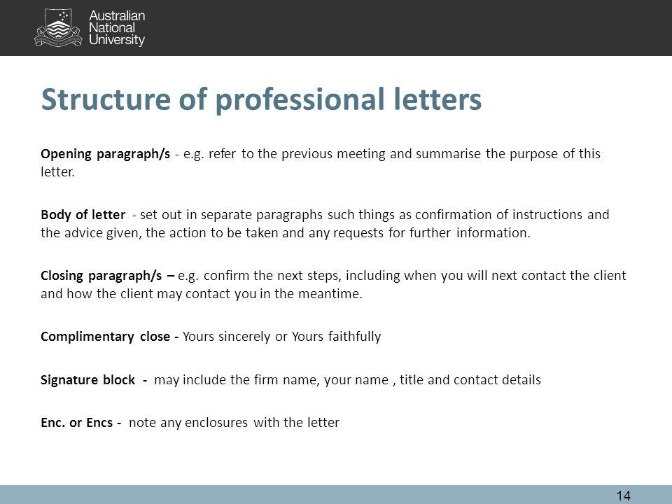 Becoming a practitioner melbourne 23 to 27 june ppt download structure of professional letters opening paragraphs eg altavistaventures Images