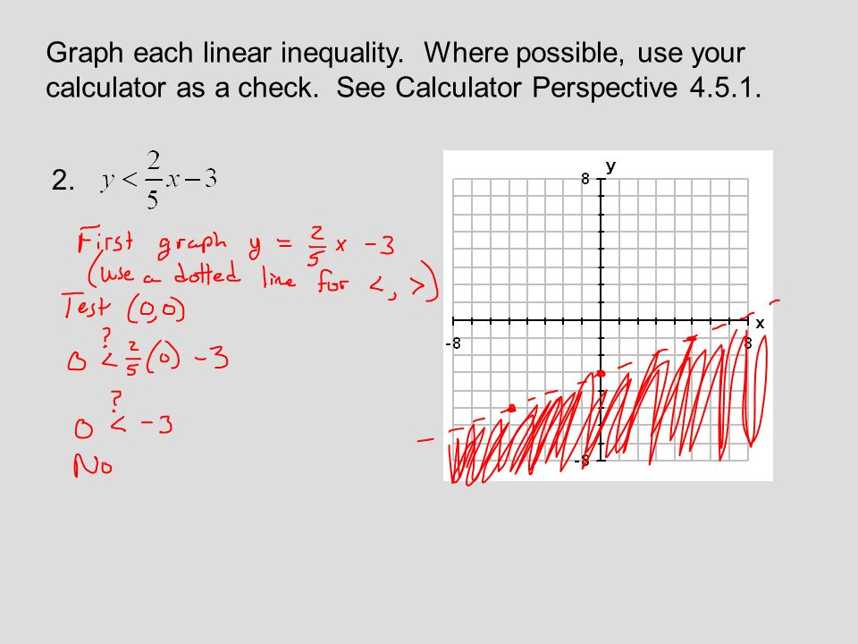 Technology in college algebra graphing inequalities in two.