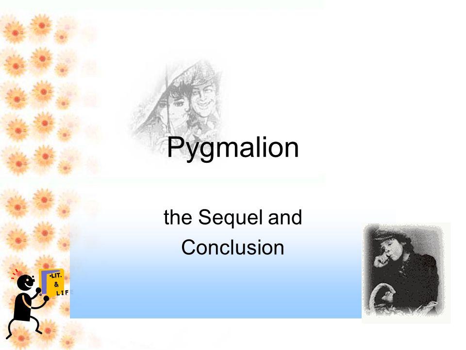 pygmalion ending summary