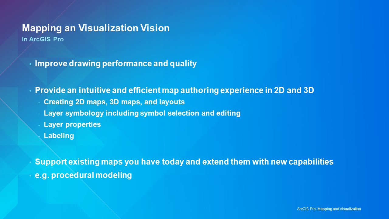 ArcGIS Pro: Mapping and Visualization Craig Williams, Edie