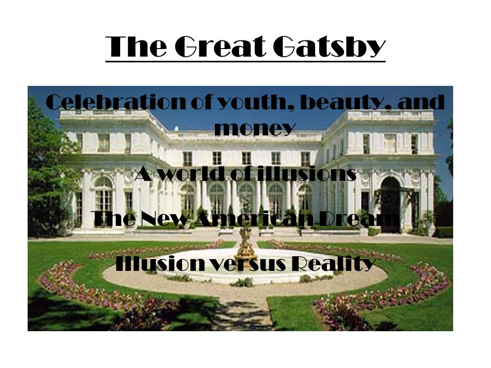 appearance vs reality in the great gatsby