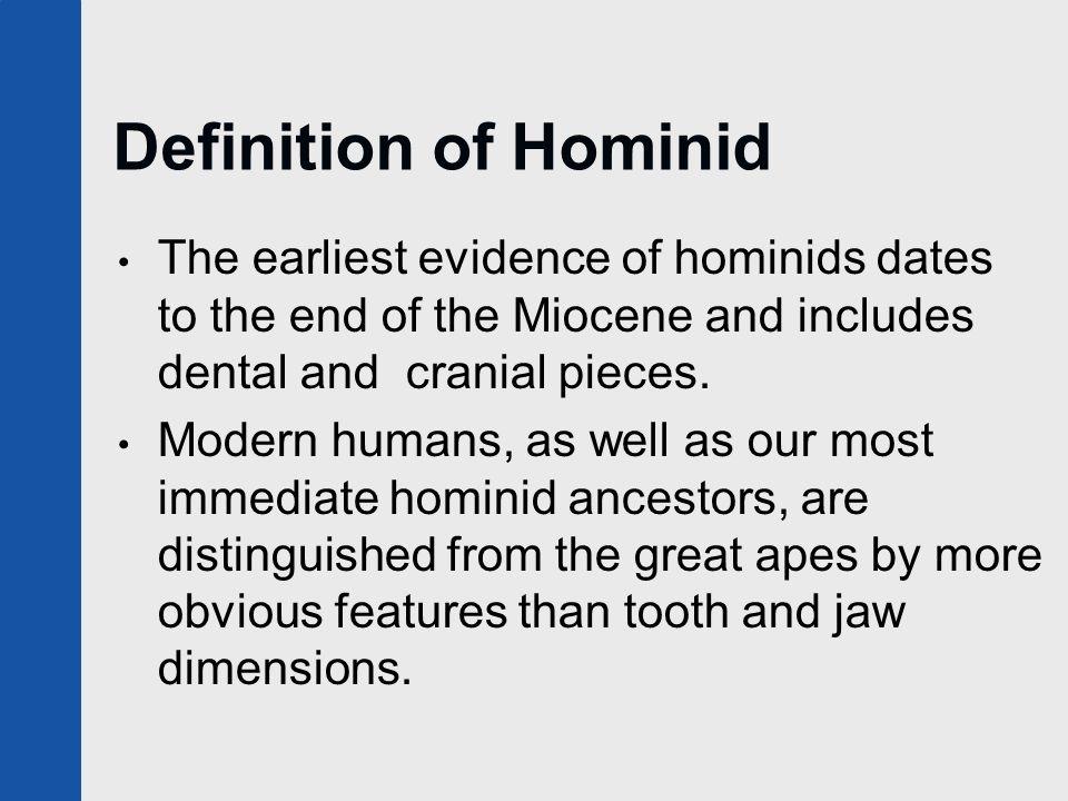 Potassium argon dating hominids definition