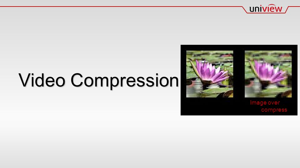 Video Compression Image over compress