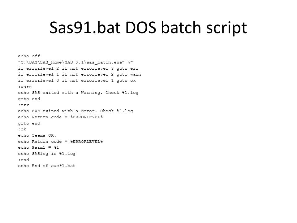Batch processing and sysparm A step towards scheduling  - ppt download