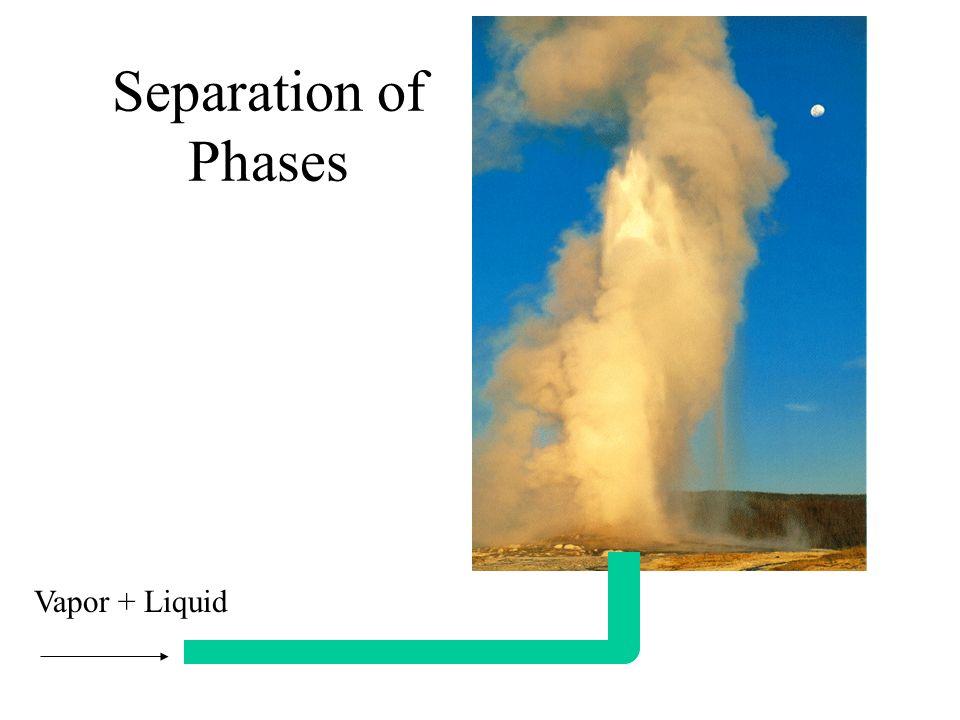 separation of phases vapor liquid vapor liquid separation vapor
