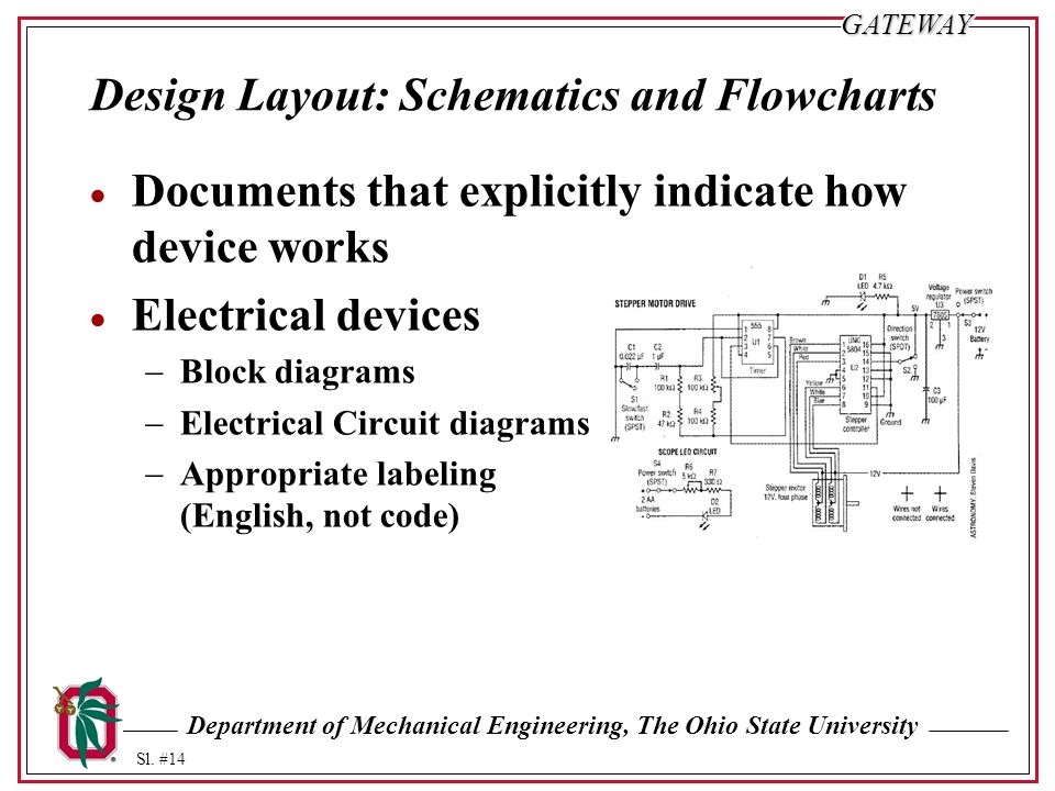 Department of Mechanical Engineering, The Ohio State University Sl ...