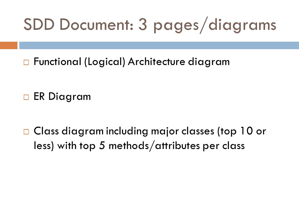 Software Systems Development 4 System Design Simplified View On