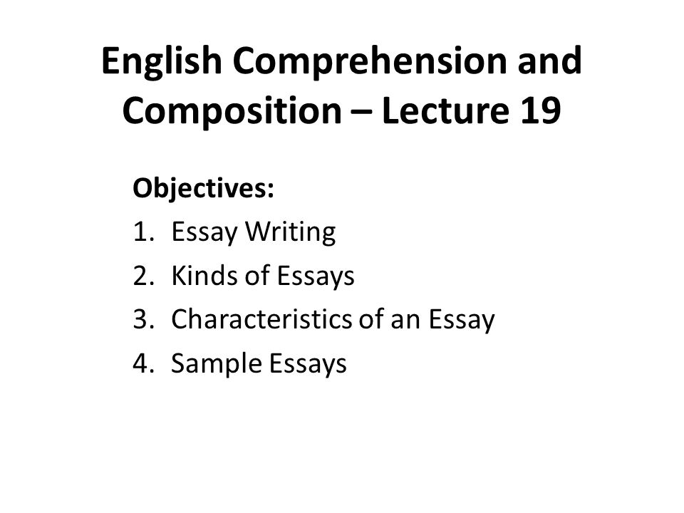 Informative Synthesis Essay  Healthcare Essay Topics also English Essay On Terrorism English Comprehension And Composition  Lecture   Science Topics For Essays