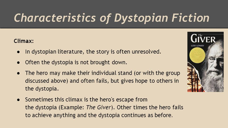 dystopian story examples