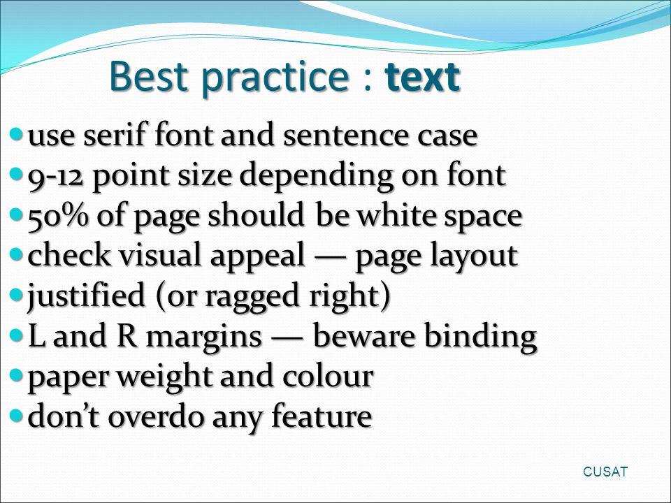 Serif in a sentence