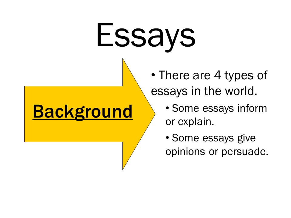 Essays There Are  Types Of Essays In The World Some Essays Inform   Essays There Are  Types Of Essays  Online Dating Profile Writing Service Uk also Topics For Synthesis Essay  Essay On Science