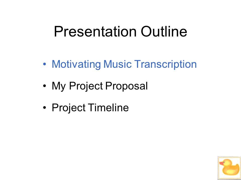 proposal speech outline