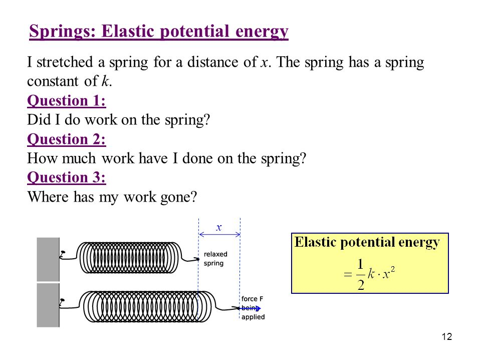 Diagram Momentum Potential Energy Spring Scale Circuit Connection