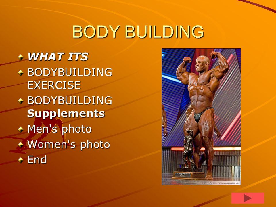 Body builders excellent slideshow
