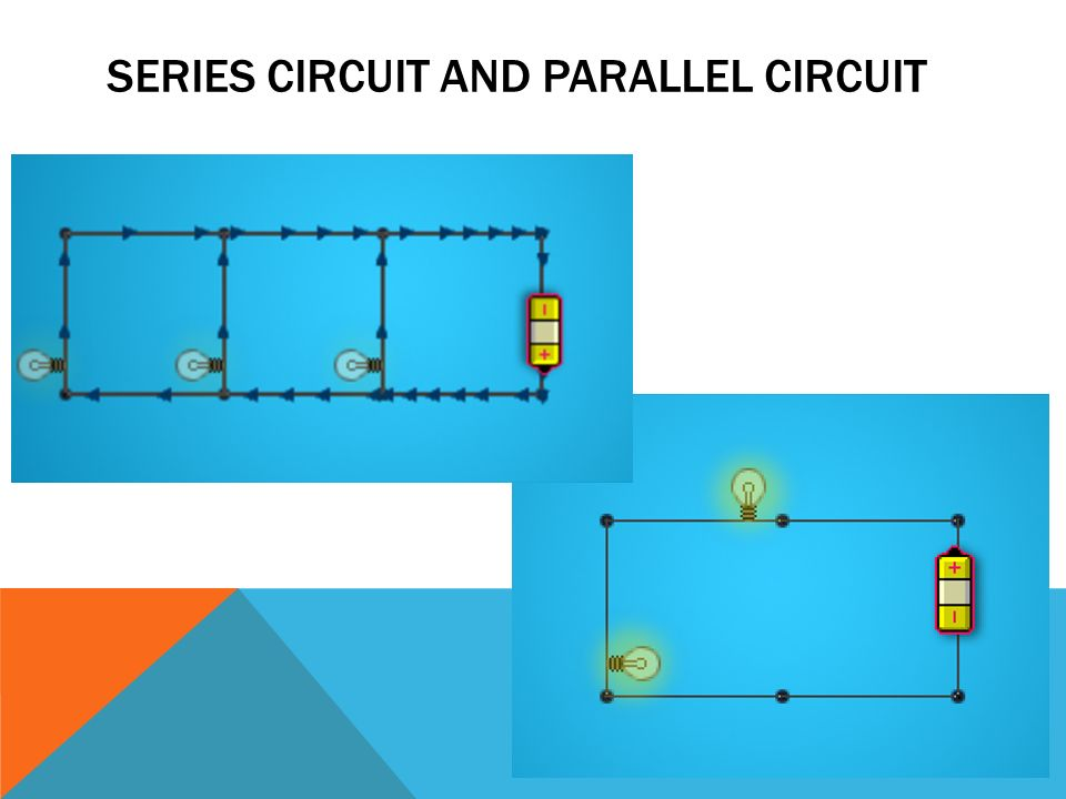 SERIES CIRCUIT AND PARALLEL CIRCUIT