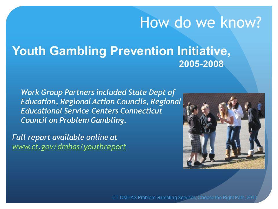 Integrating Problem Gambling Awareness into the Curriculum