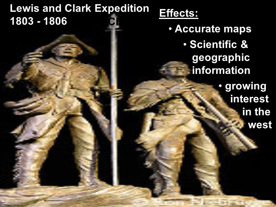 Lewis and Clark & Pike's Expedition Routes Lewis & Clark clip Route animated