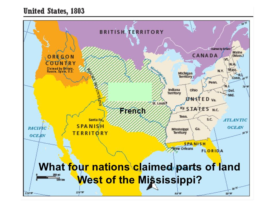 Ch Today's Targets: Explain the impact of the Louisiana Purchase