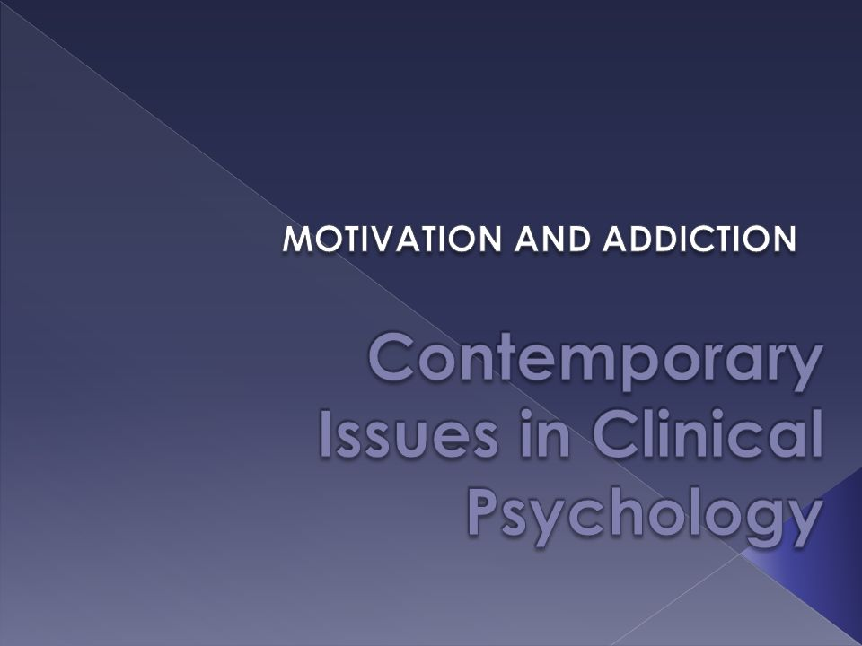 current issues and trends in clinical psychology
