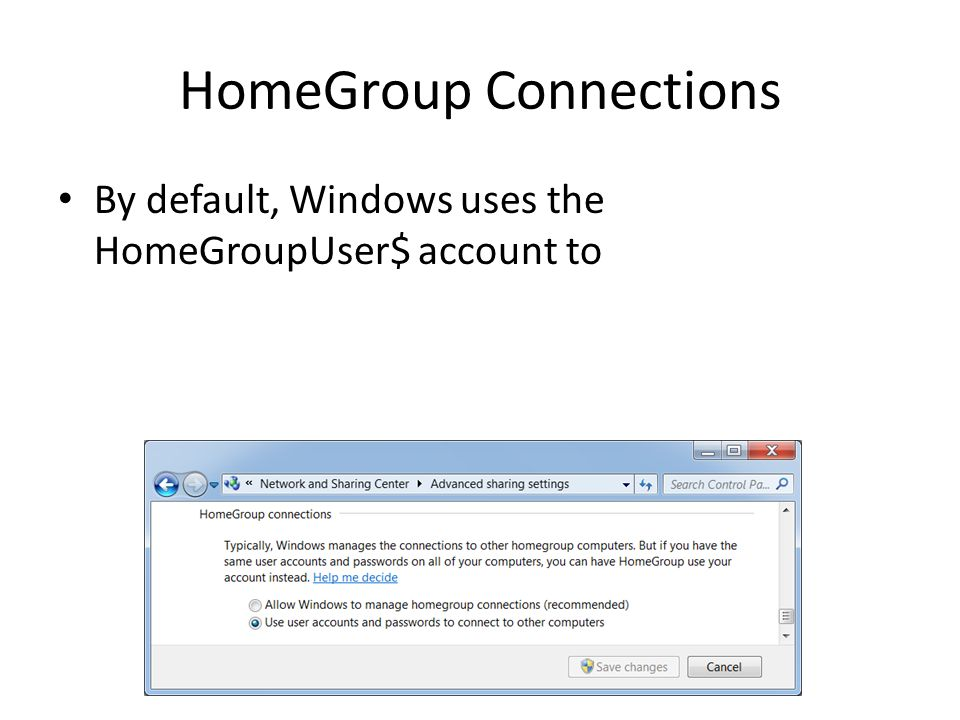 how to delete homegroupuser$