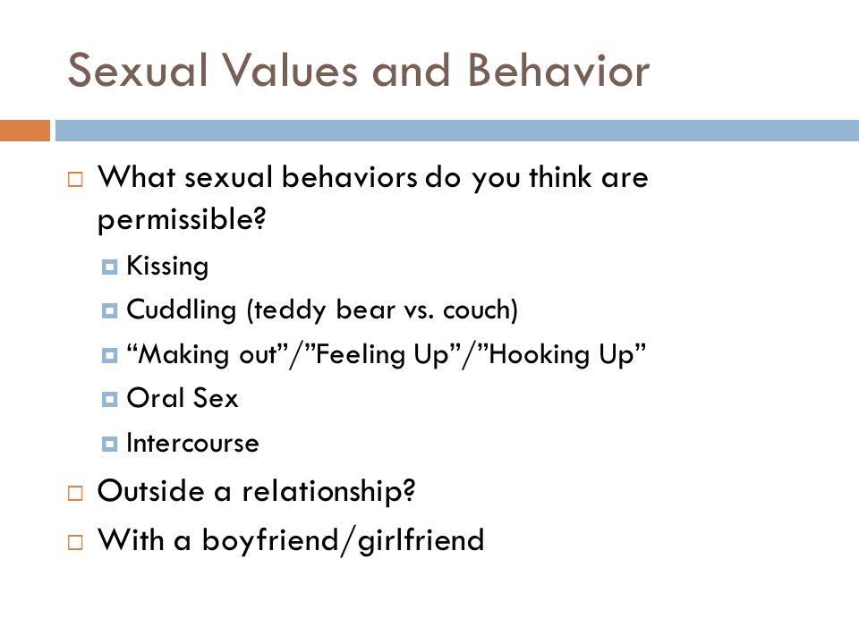 Sexual boundaries in dating