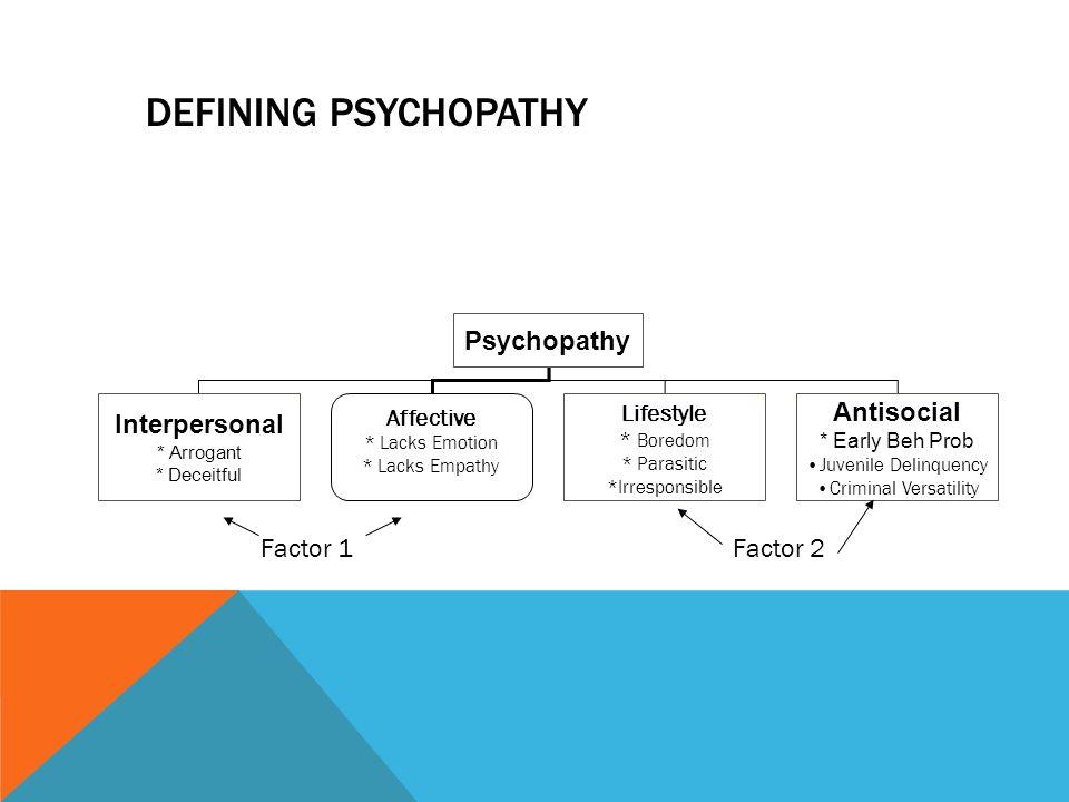 Psychopath Definition