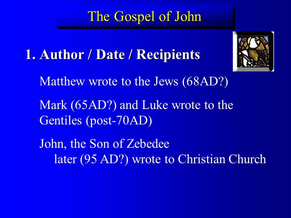 dating gospel of mark