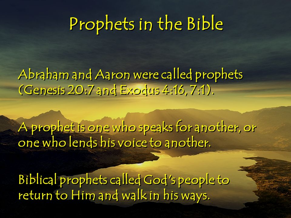Tool #6 Prophetic Ministry  Moving in the Prophetic  - ppt