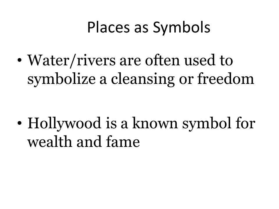 Symbolism In Literature Sometimes Theres More To Literature Than