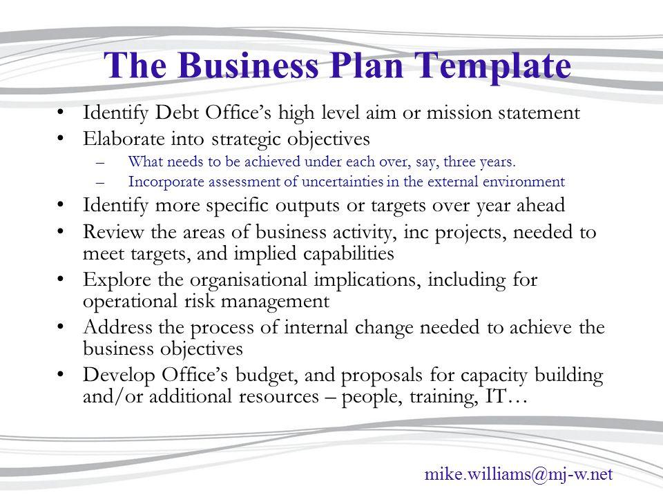 Business Planning Based On Presentation For Client Workshop March