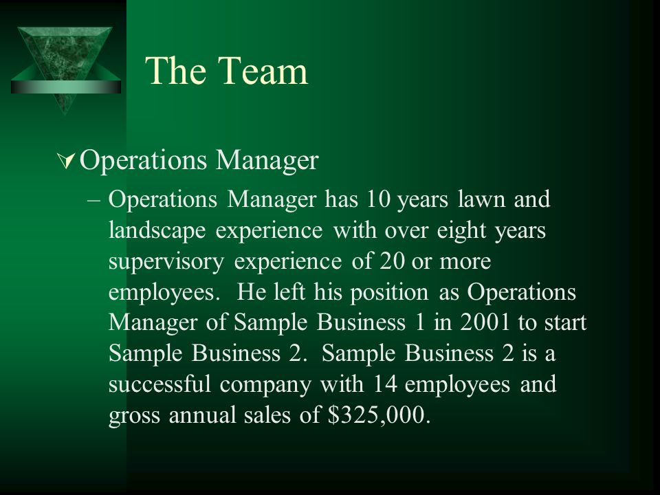 sample business 1 business plan mission statement to provide