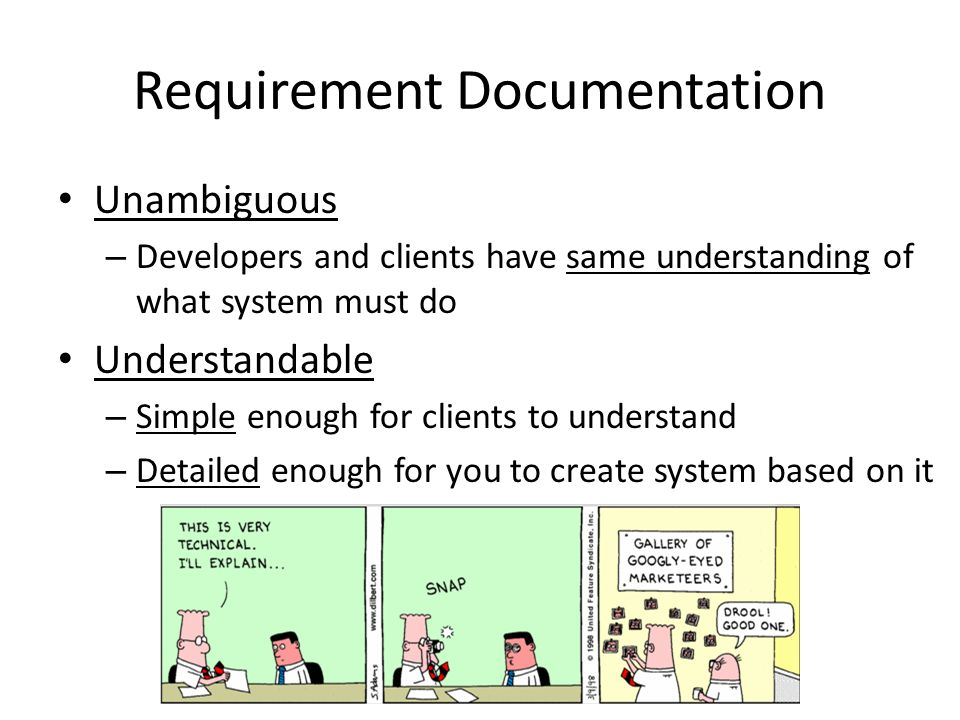 Requirements Documentation CSCI Software Engineering Ppt - Requirement documentation in software engineering