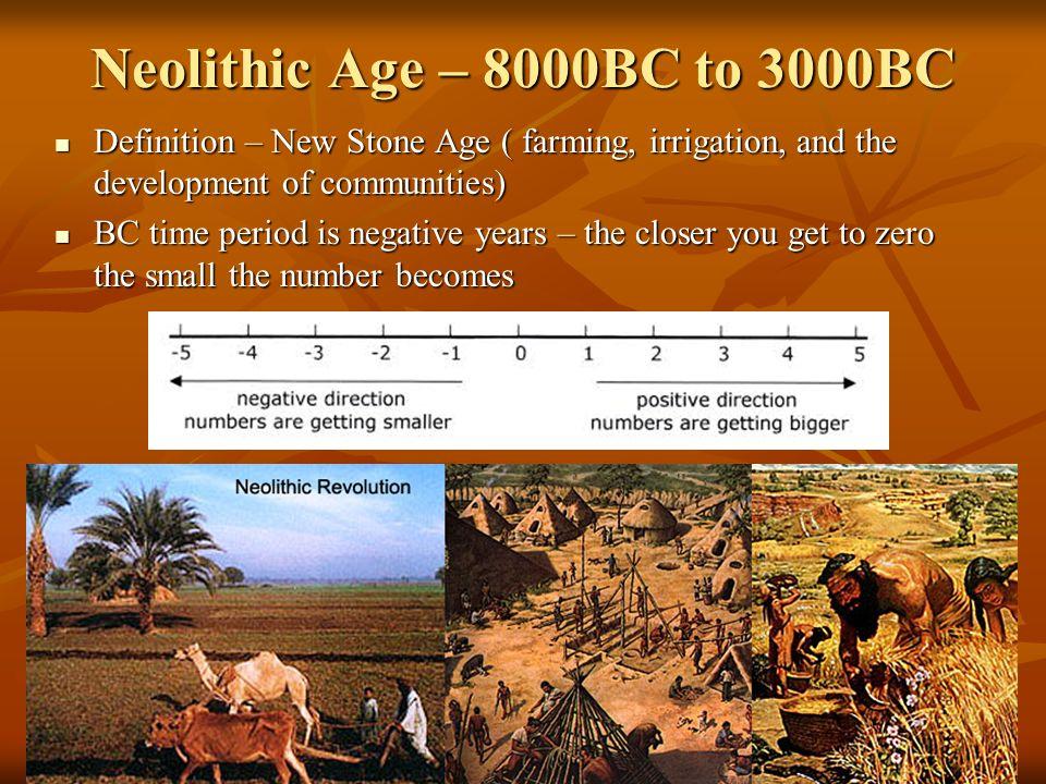 define neolithic age