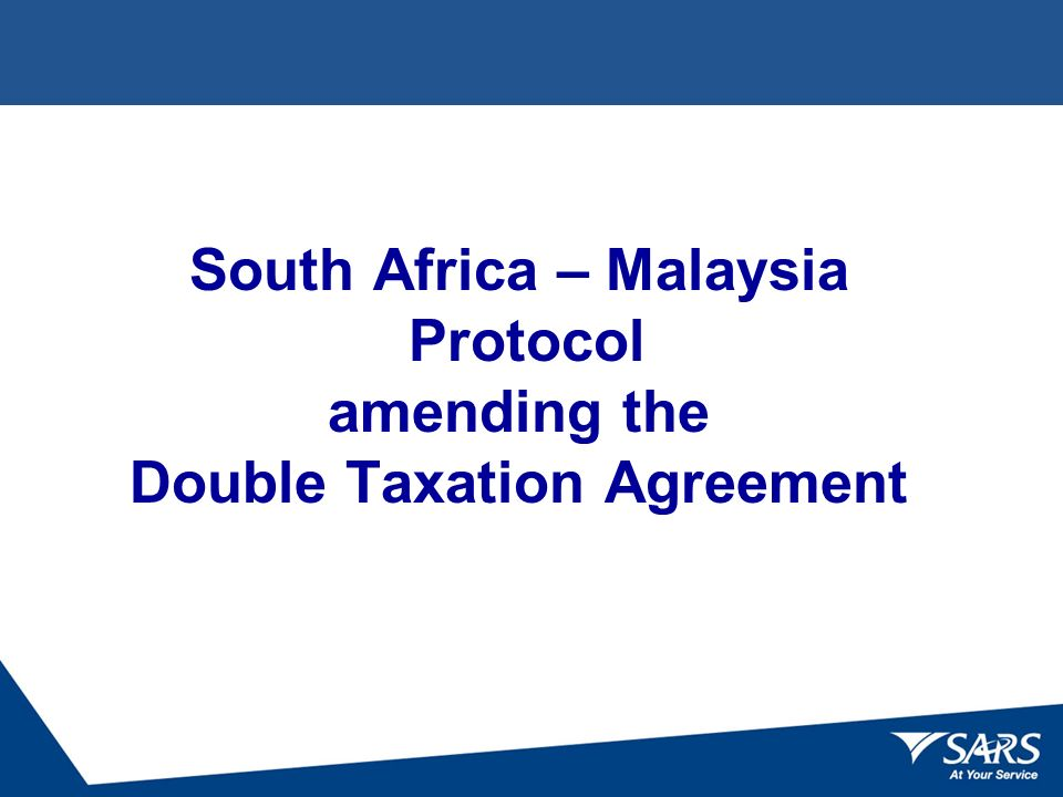 Double Taxation Conventions Agreements Formal Ratification Ppt