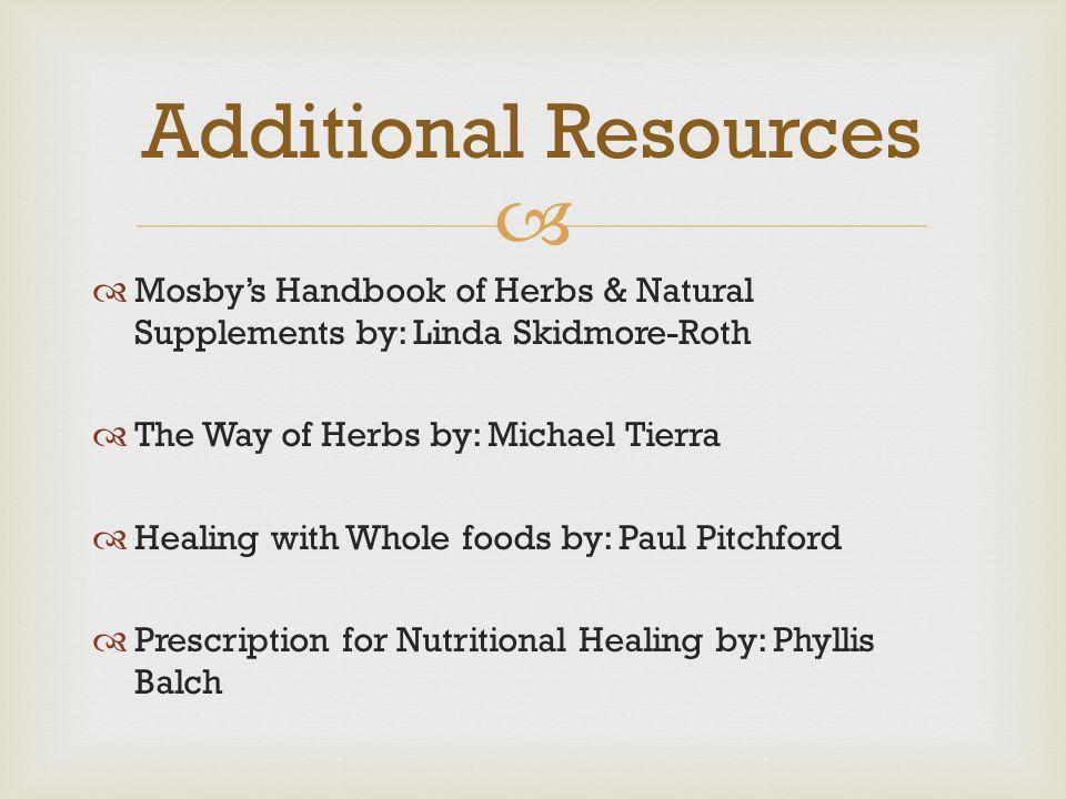 the way of herbs tierra michael