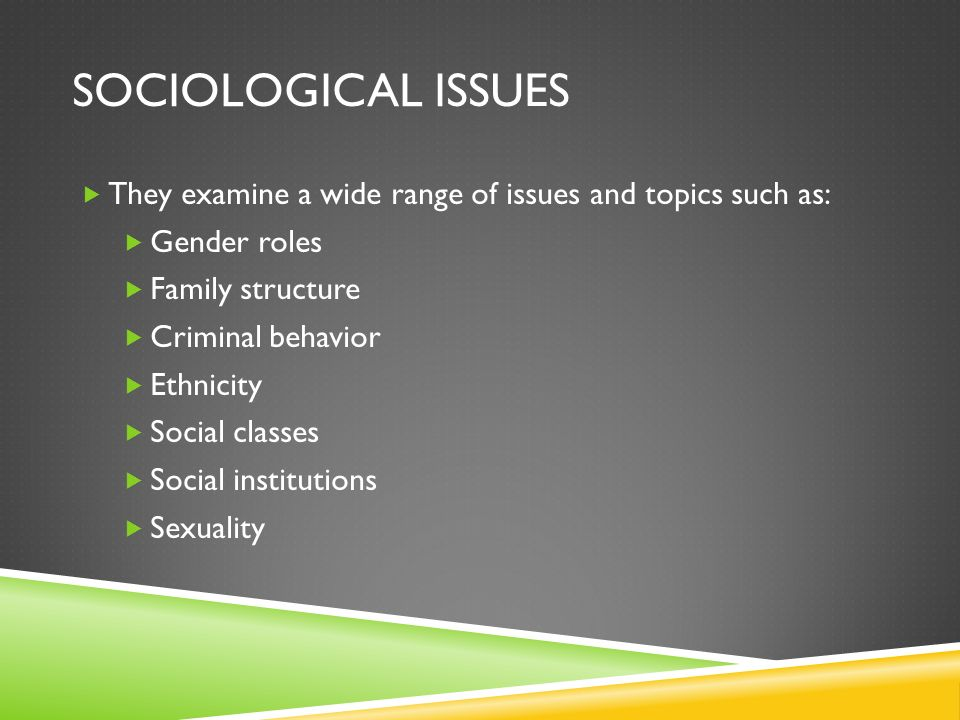sociology of sexuality topics