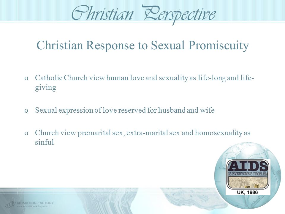 premarital sex christian perspective