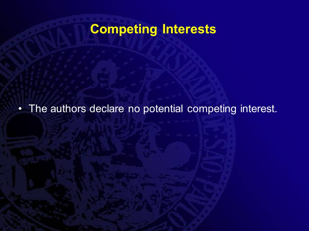 Competing Interests The authors declare no potential competing interest.