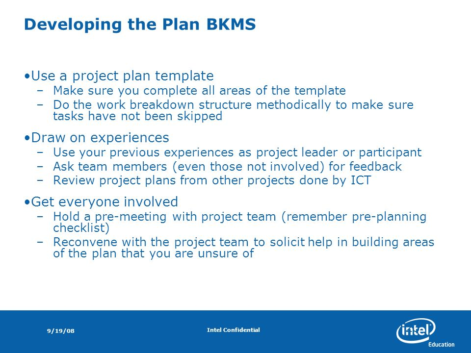 Introducing Project Planning Project Management Update June Ppt - Pre project planning template