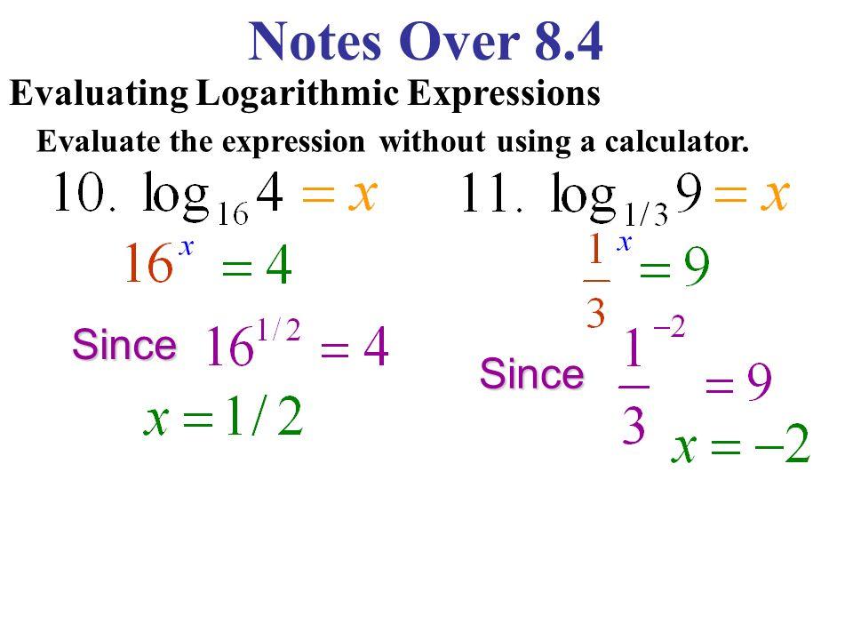 log scientific calculator