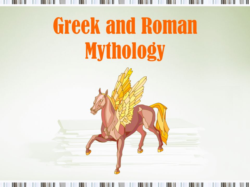 "Greek and Roman Mythology  What is the purpose of ""myth""? Used to"