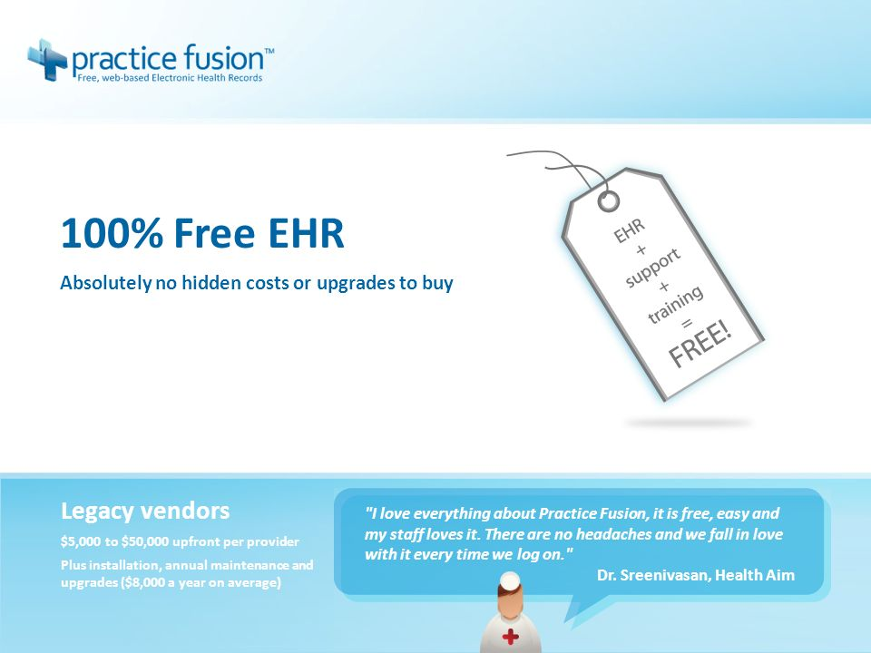 Take A Tour Of Practice Fusion A Quick Introduction To Our Ehr