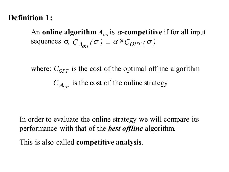 optimal strategy definition