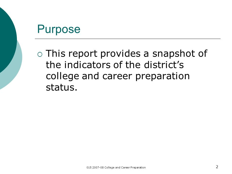 College And Career Preparation 1 College And Career Preparation Lodi